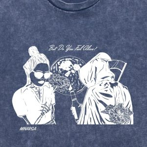 Dead or Alive T-Shirt (Blue Stone)