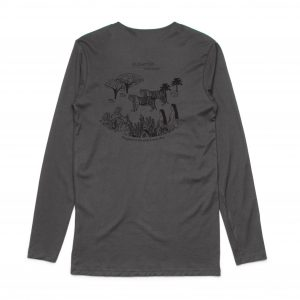 Elevated Long Sleeve T-Shirt (Charcoal)